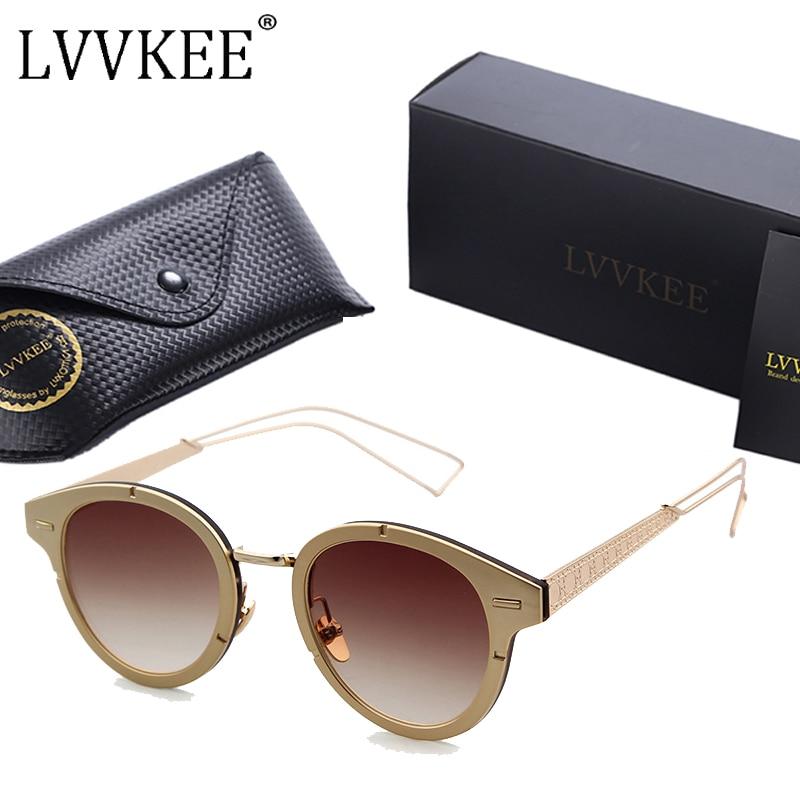 2017 Summer Style women Brand Designer Sluneční brýle Pánské kovové rámy Sluneční brýle Dámské 100% UV400 Příslušenství k brýlí zonnebril