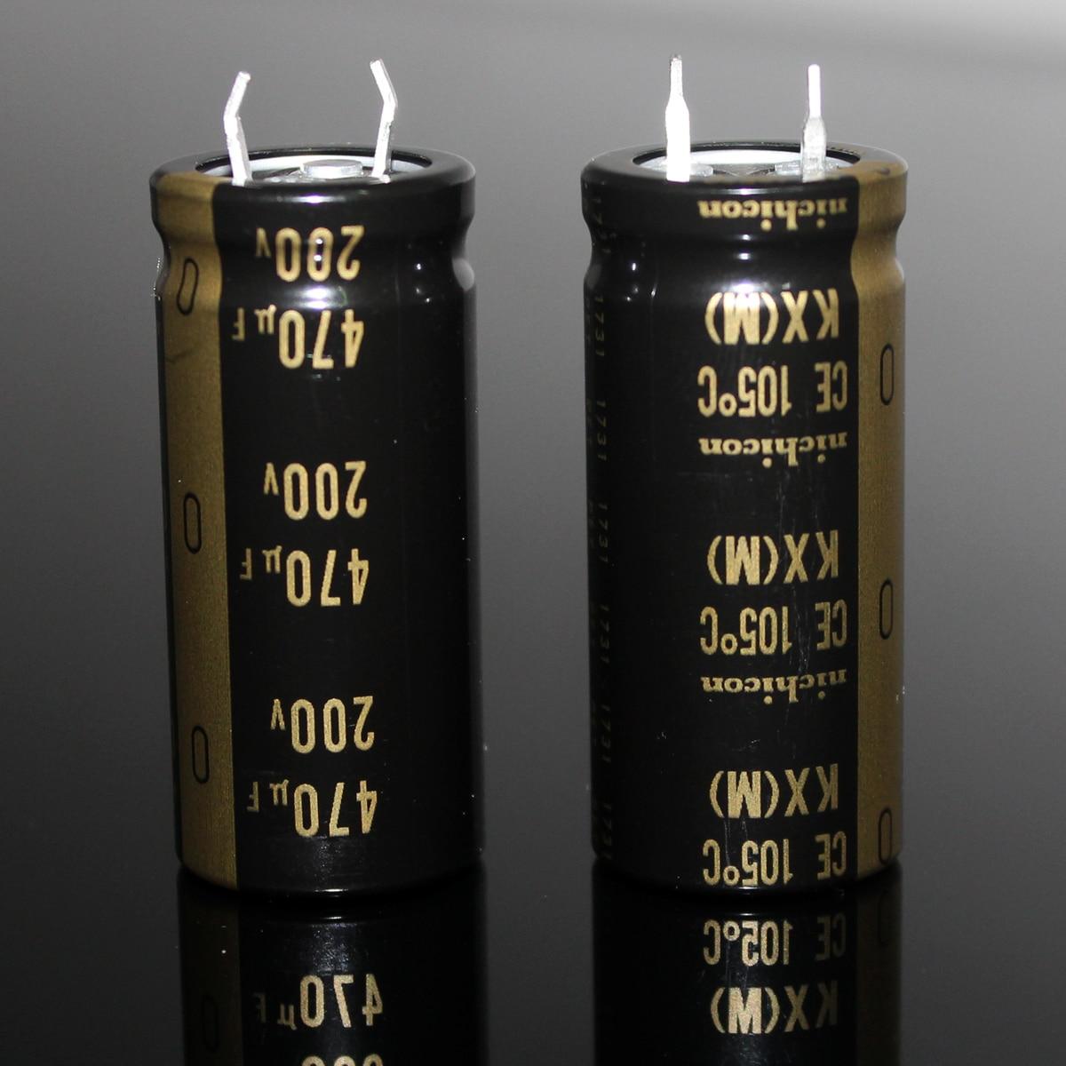 470uF 200V 105C ce Electrolytic Capacitor Nichicon