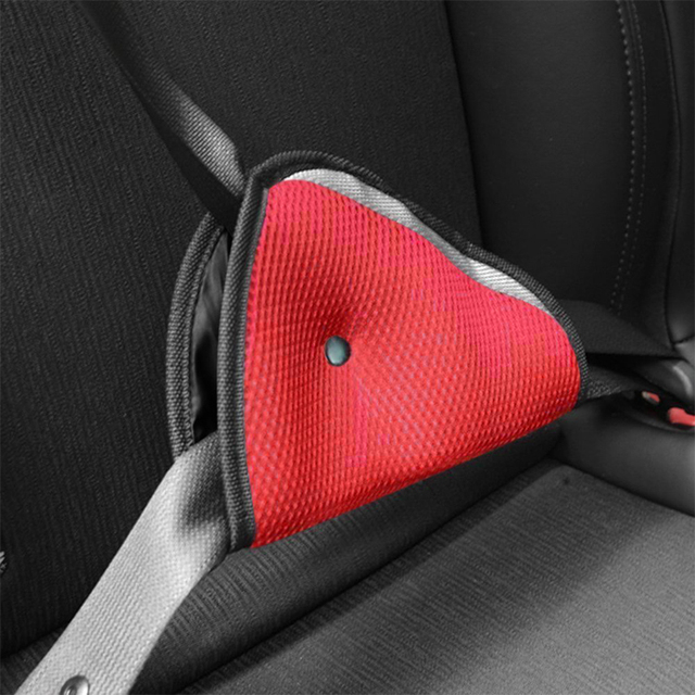 Lonleap Car Seat Safe Belt Additional Seat Belt Pad Adjust Device Triangle Baby Child Protection Baby Safety in Car