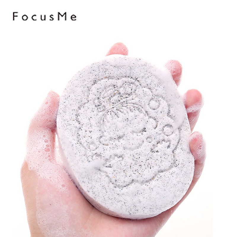 FocusMe 2pcs Smooth Facial Cleaning Sponge Cosmetic Facial Soft Makeup Removal Puff Wash Face Pads Skin Care Exfoliator Tools
