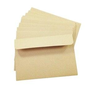 Image 5 - 100 יח\חבילה בציר ריק מכתבים מעטפות DIY משולב מעטפות מתנה סיטונאי