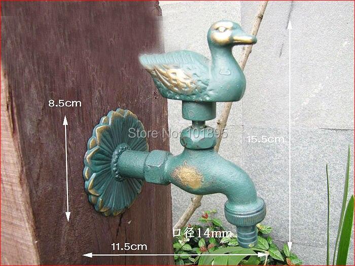 Хорошее Качество настенный 1/2 дюймов резьба 2 цвета 13 моделей латунный сад животное нагрудник кран