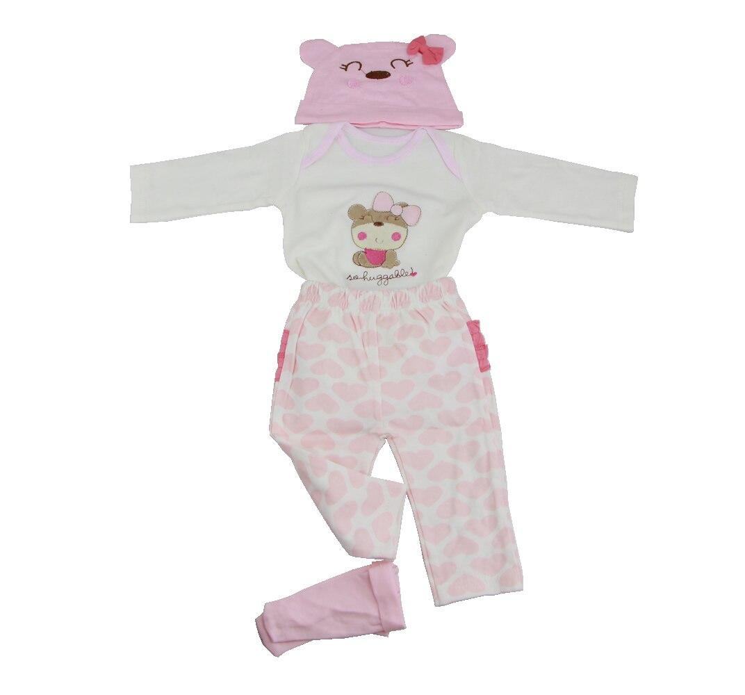Doll Clothes D227 22~23 inch Doll Bebe Reborn Dolls Accessories Girl Lifelike Reborn Doll Fashion Boy Newborn Reborn Babies