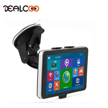 Dealcoo Car GPS Navigation 7 inch Screen FM Built in 8GB 128M WinCE 6 0