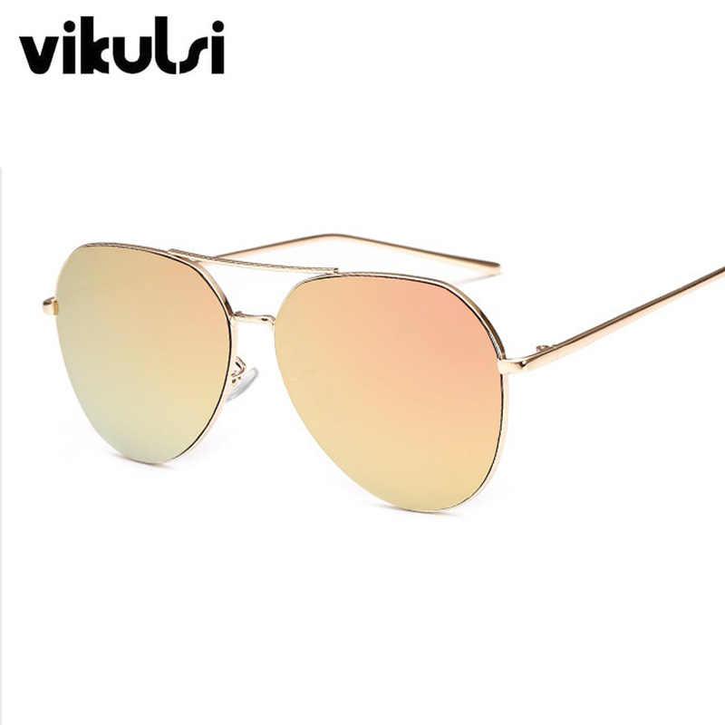 6d2bc20a24887 ... Fashion Classic Men Pilot Sunglasses Women Driving Mirror Brand  Designer Sun Glasses Rose Gold Vintage Aviation ...