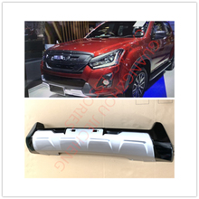 цена на JIECEHNG CAR ACCESSORIES Front Bumper Body Kits Cover Trims Car Styling Fit For ISUZU D-max dmax 2016-2019 auto accessories