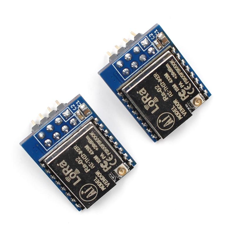 Elecrow 2pcs SX1278 LoRa 433MHz V1.0 LoRa Spread Spectrum Wireless Module Hypermedia 10KM 43 DIY Kit Smart Home Meter Reading