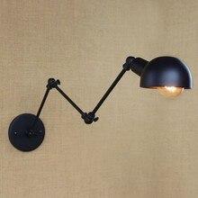 Lámpara de pared LED Edison estilo Retro Loft lámpara de pared Vintage Industrial tres secciones accesorios de iluminación de pared para el hogar iluminación interior
