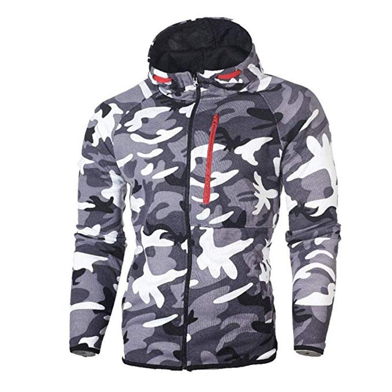 Men\`s Autumn Winter Snowboarding Camouflage Top Pants Slim Sports Suit Tracksuit Hoodies Camo Suit Long Sleeves Sweatshirt (7)