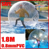 Giant Inflatable Toy Balls Water Walking Ball play ball Water Walking Zorb Ball Dance Roll For Game funny PVC