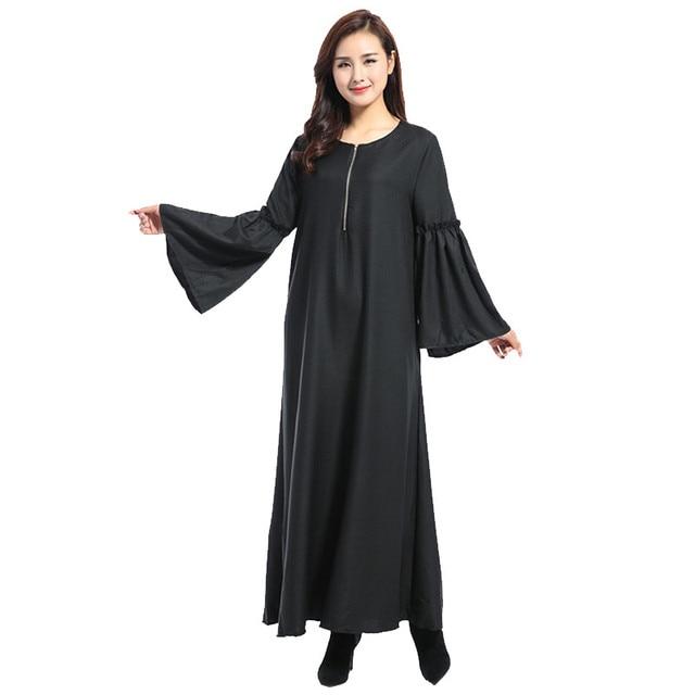 285752be4ae 2018 Islamic clothing muslim abaya dubai muslim burqa women clothing  malaysia abayas for women burka turkish long dress skirt