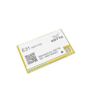Image 3 - Ax5243 433 mhz tcxo ebyte E31 433T17S3 iot uart 무선 트랜시버 ipex 스탬프 홀 커넥터 wor 송신기 및 수신기
