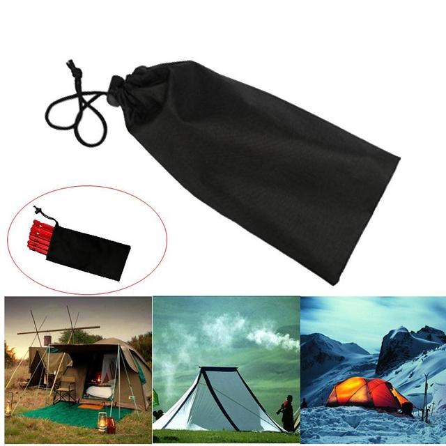 23cm Pegs Accessories Hammer Wind Rope Tent Nail Storage Pouch Cover Case Bag