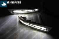 Светодио дный LED drl дневные ходовые огни для Hilux vigo 2012 + одежда высшего качества ксеноновые Яркий