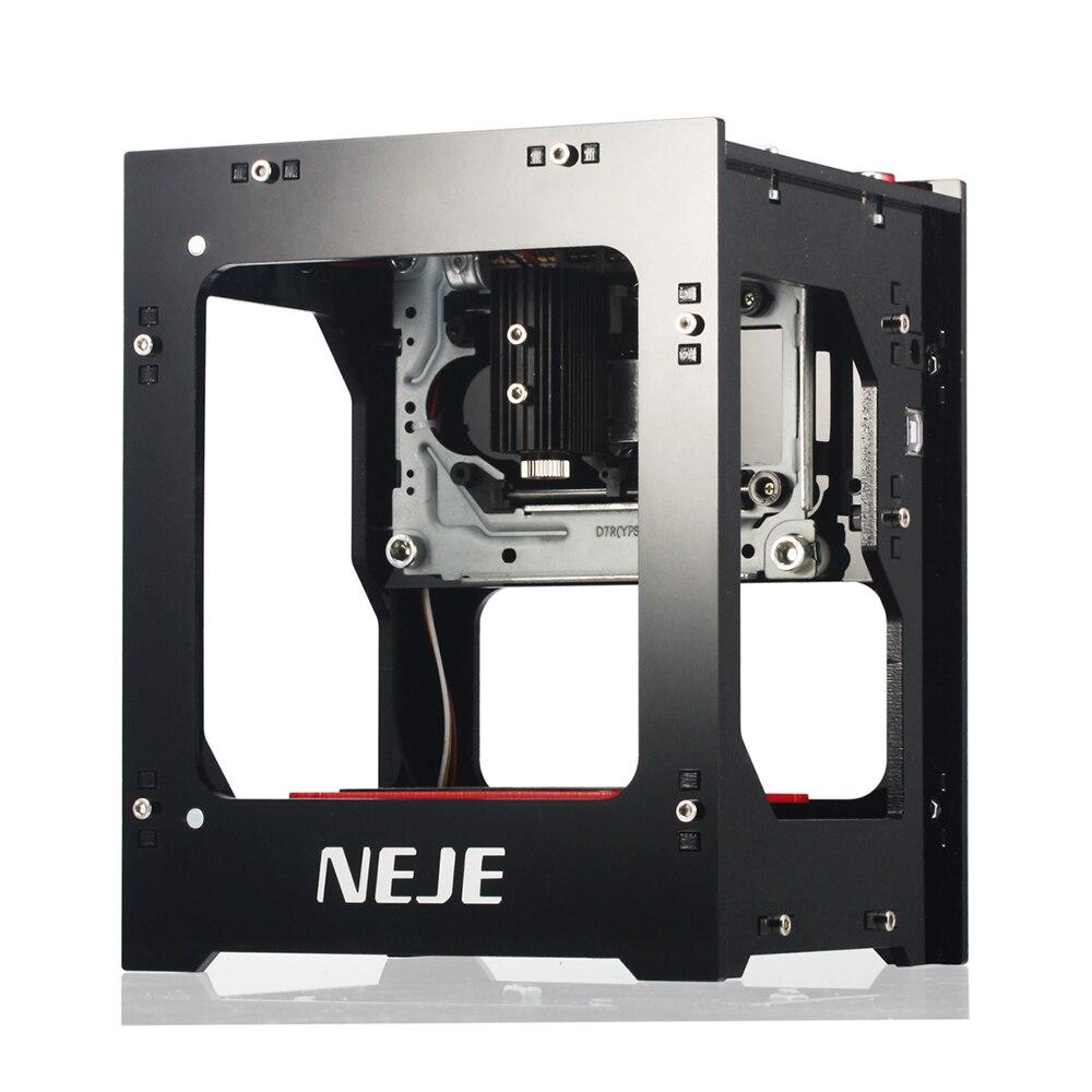 NEJE Mini USB Laser DK-8-KZ 1000 mW DIY Automático CNC Router Madeira Máquina de Gravura Do Laser Cortador Gravador Máquina De Corte de Impressora
