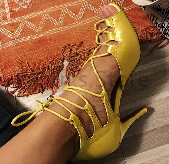 New Ladies Yellow Red Green Custom Color Satin Latin Ballroom Dance Shoes Salsa Dance Shoes Tango Bachata Dance Shoes DS388
