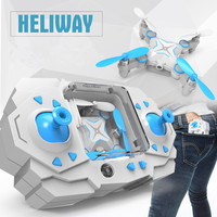 Quadrocopter Dron HELIWAY 901S Pocket Drone 4CH 6Axis Gyro Quadcopter With Switchable Controller RTF UAV Foldable Mini Drones