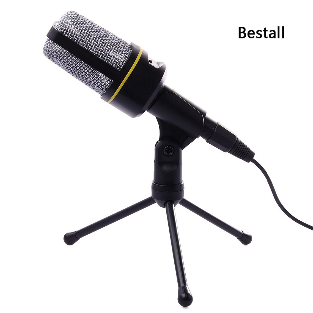 Bestall Sf 920 Audio Professional Condenser Microphone Wired Mic Stand Holder For Recording Singing In Microphones From Consumer Electronics On