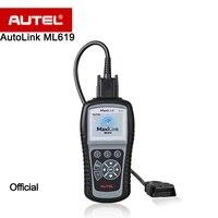 Autel AutoLink ML619 CAN/OBD2 + ABS/SRS Tarayıcı Motoru Işığı kapatır (MIL) ve ABS/SRS Ikaz Işıkları daha iyi AL619