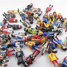 10 шт./лот оригинальный Playmobil Фигурки игрушки классическая коллекция игрушки для детей полицейский набор fille originais