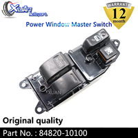XUAN Power Window Lifter Master Control Switch 84820 10100 For Toyota Land Cruiser YARIS STARLET PASEO HILUX HIACE ECHO