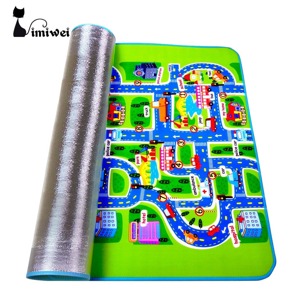 IMIWEI Brand Kids Toys Carpet font b Baby b font Play Mat Mat For Children Developing