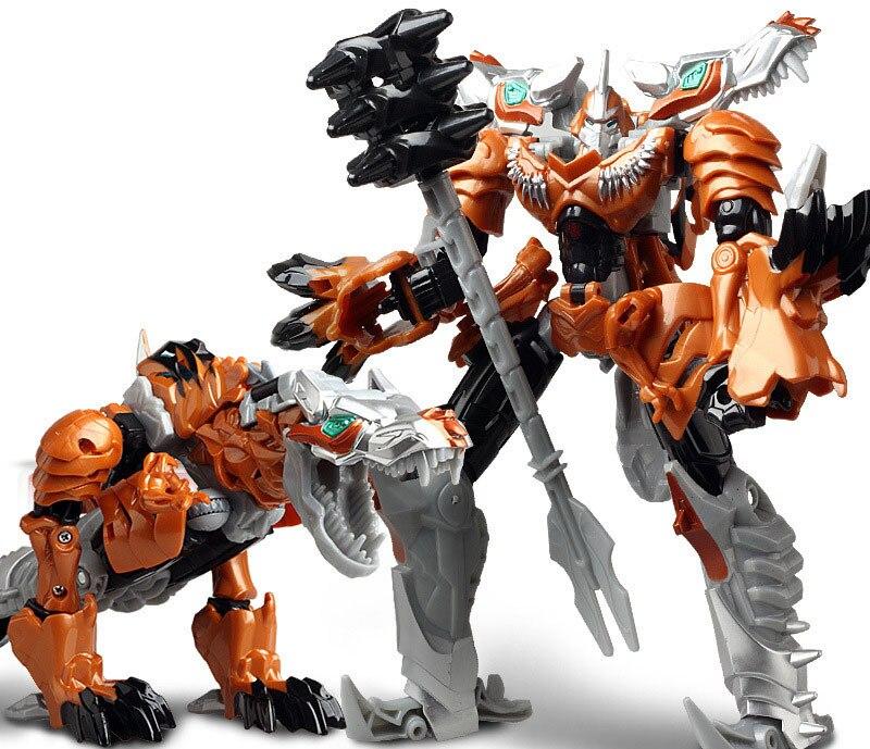 """Лидер продаж 19,5 см модель Трансформация Робот автомобиль экшн игрушки пластиковые игрушки Фигурки игрушки лучший подарок для образования детей 7,5"""" - Цвет: NO.6"""