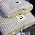 AC Studios Echarpe Luxury Brand Cap Men Women Skullies Unisex Cotton Wool Cashmere Beanies Warm Hat