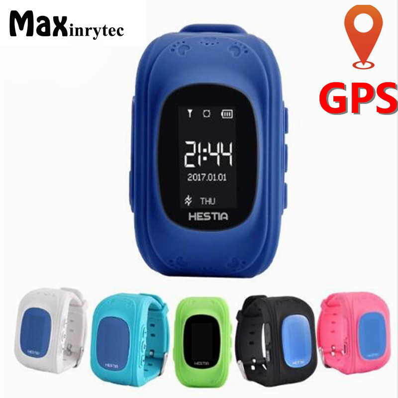 Original Q50 SOS Call Location Finder Anti lost OLED Screen support sim card GPS smart baby watch for children Finder Locator