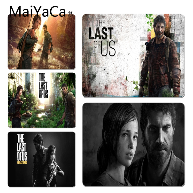 MaiYaCa The last of us Customized laptop Gaming mouse pad Size for 18x22x0.2cm Gaming Mousepads