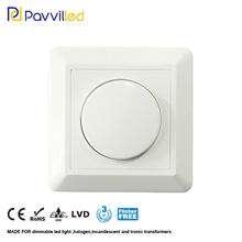Ce Goedgekeurd 200W Trailing Edge Led Dimmer Fase Cut/Off Bottom Helderheid Instelbaar Met Knop 100-240Vac(China)