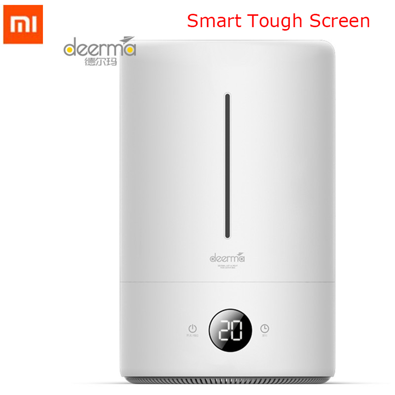 Original Xiaomi Mijia Deerma 5L Air Humidifier Touch Version 35db Quiet Air Purifying for Air-conditioned Rooms Office household gift for boyfriend on anniversary