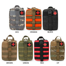 Outdoor Survival Tactical Medical First Aid Kit Molle Medical EMT Cover Emergency Military Package Hunting Utility Belt Bag 600d military tactical molle unisex clay dragon tactical belt durable canvas hunting material outdoor utility accessories