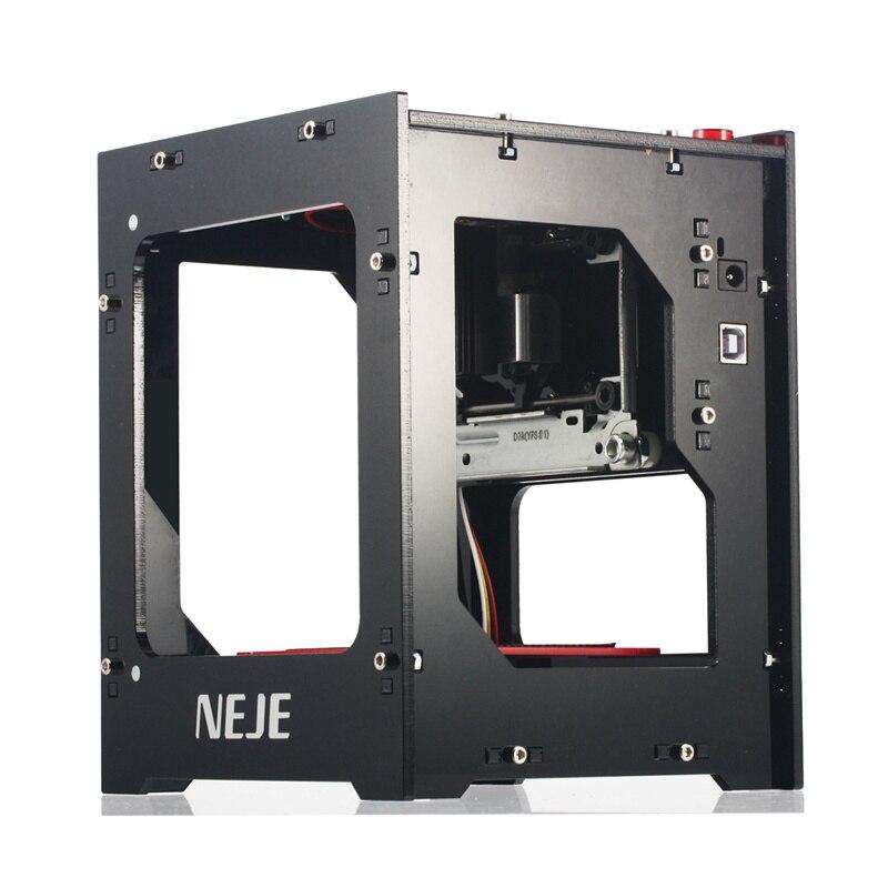 NEJE DK-8-KZ 1500/2000mW profesional DIY de escritorio Mini CNC cortador grabador láser de Grabado de la máquina de corte