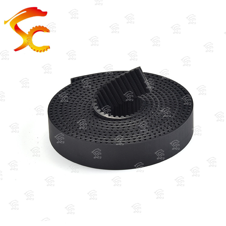 14Meters HTD 3M 15mm timing belt Width 15mm Polyurethane with steel Wire Color Black HTD3M Open
