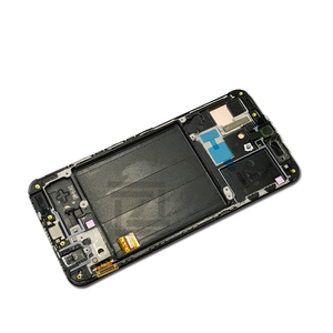 Image 5 - Super AMOLED For Samsung A40 LCD A405 LCD display touch Screen Digitizer Assembly with frame a40 screen replacement repair parts