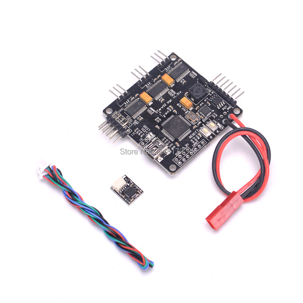 Storm32 32Bit 3-Axis Brushless Gimbal Controller Board Motor Drive (Mosfet version) for RC Quadcopter storm32 bgc 3 axle 32 bit stm32 brushless gimbal controller board with dual gyroscope for diy fpv quadcopter multicopter f18887