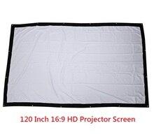 Ицоон отверстиями сложить проекционный рамки передняя проектор ткани hd без экран