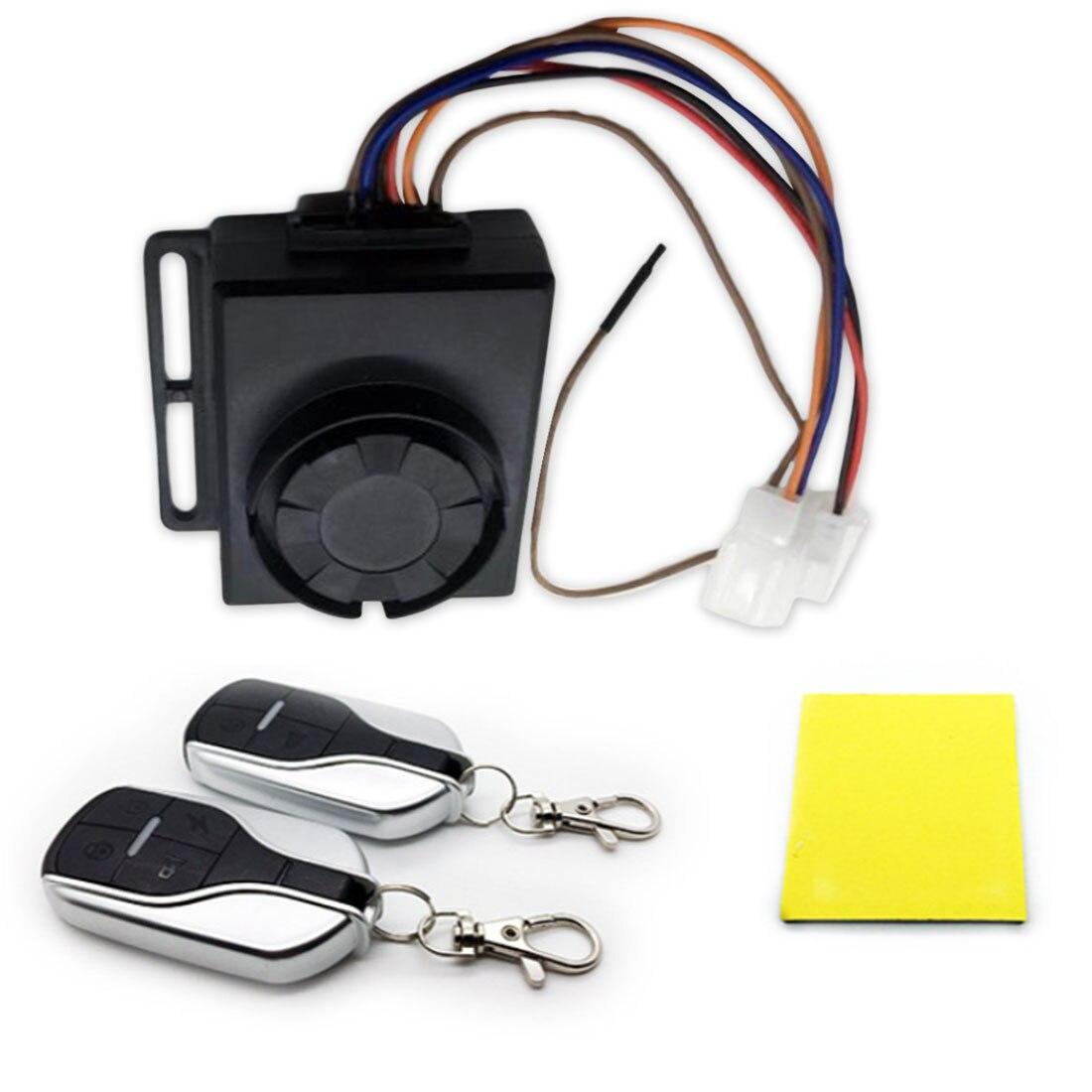 New Arrival Electric Car Alarm Electric Car Alarm With Start Lock Motor 48V60V72V2 Remote Control Waterproof