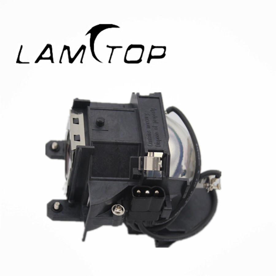Free shipping   LAMTOP  projector lamp  with housing/cage  ELPLP40 for  EMP1815 free shipping lamtop uhe 132w compatible lamp with housing for emp tw10 emp tw10h