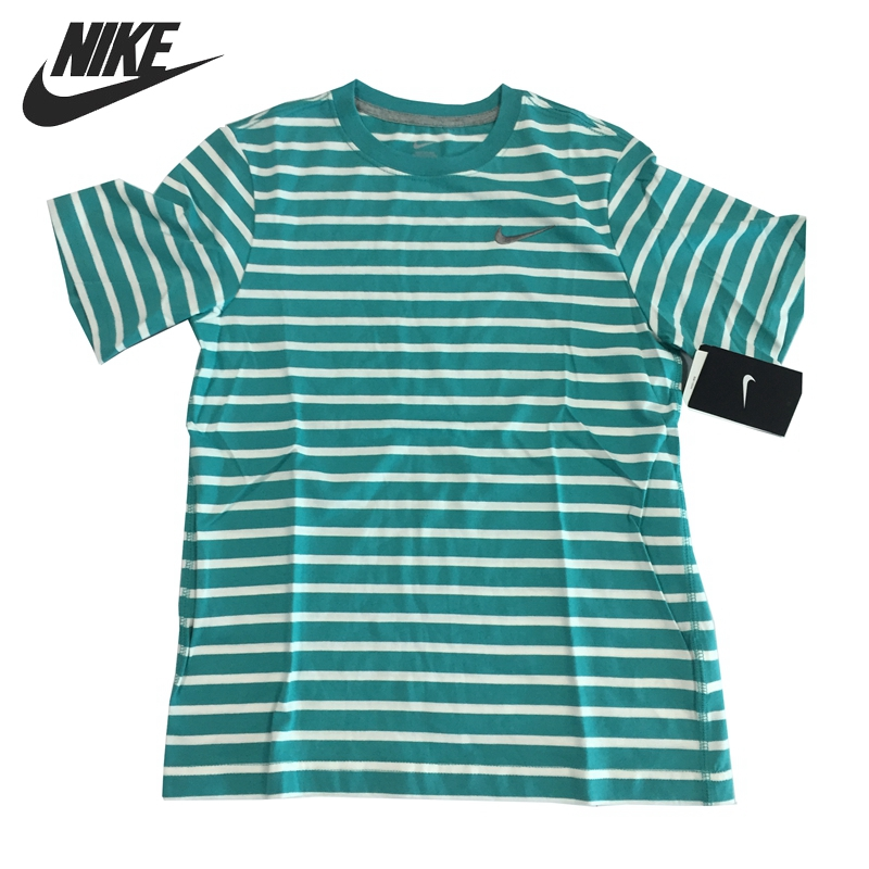 Original NIKE Boy's Knitted Short Sleeve T-shirts Sportswear