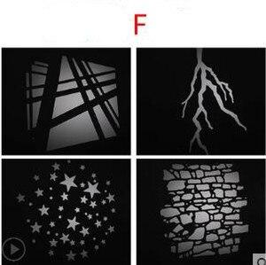 Image 5 - LED kondensator rohr projektion film grafik DIY licht rohr form einfügen OT1 kondensator objektiv hintergrund licht wirkung film NO00DGT07