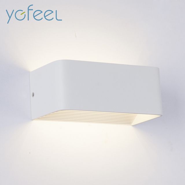 LED Wall Lamps 5W 10W 15W AC85-265V Modern Simple Bedroom Lights Indoor Kitchen Dining-room Corridor Lighting Aluminum Material