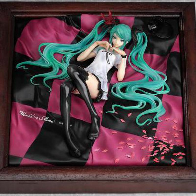 цена Your Highness Hatsune Miku Princess Japanese Anime Figures Pvc Model Collection Action Figure For Christmas/birthday Gift