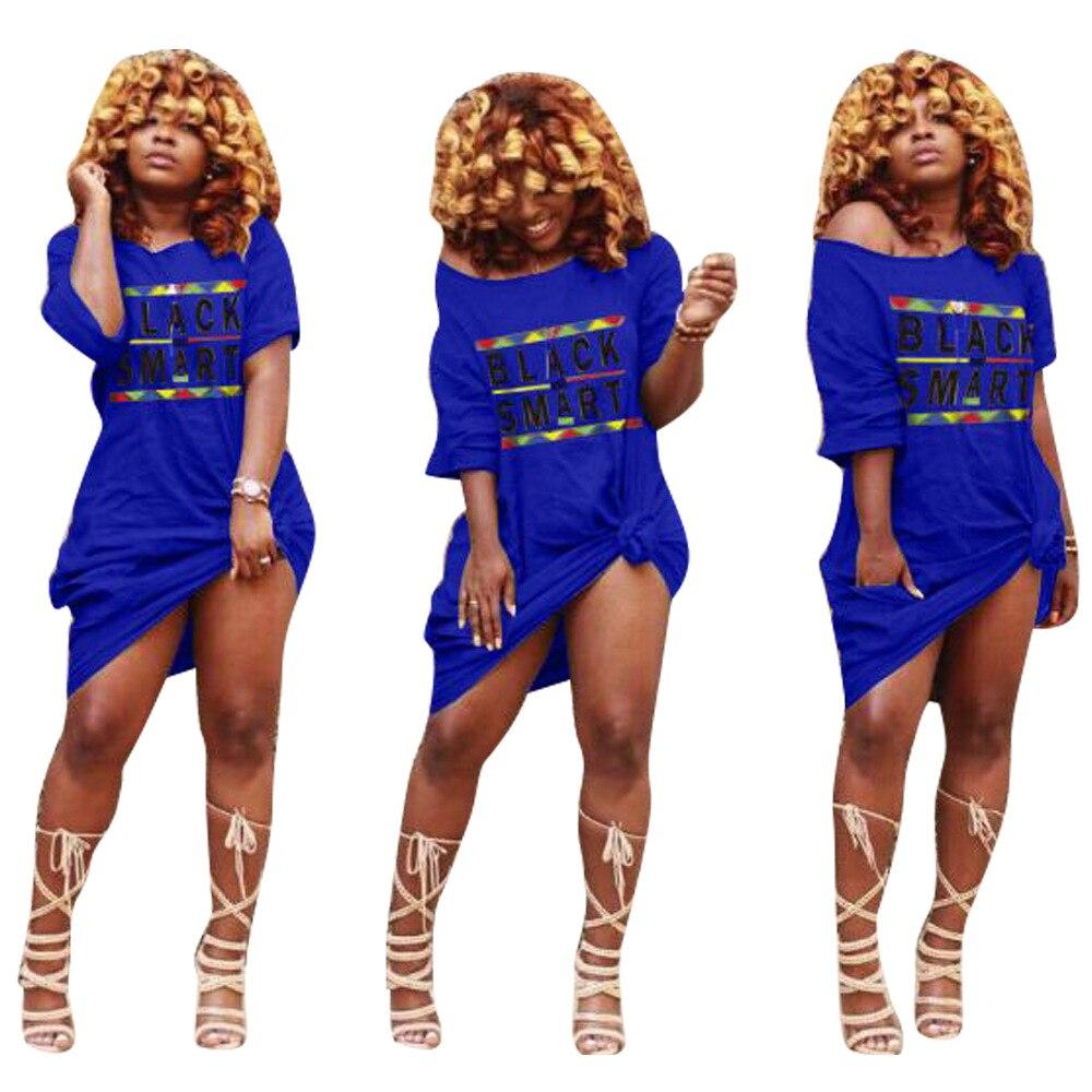 cc407368e4d Autumn New Women Dresses Fashion Letter Black Long Sleeve Long Design Plus  Size Tee Shirt Ladies Dress S XXL XXXL-in Dresses from Women s Clothing on  ...