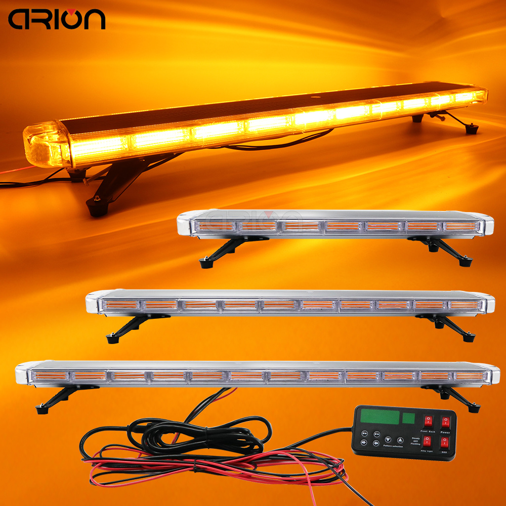 30 to 72 New COB Led flash warning strobe light bar Car Truck Tow Beacons Safety