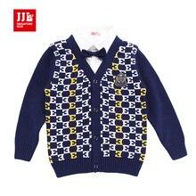 Мальчик кардиган свитер рождество детской одежды мальчик жилет вязание шаблон мальчики свитера дети свитера зимы