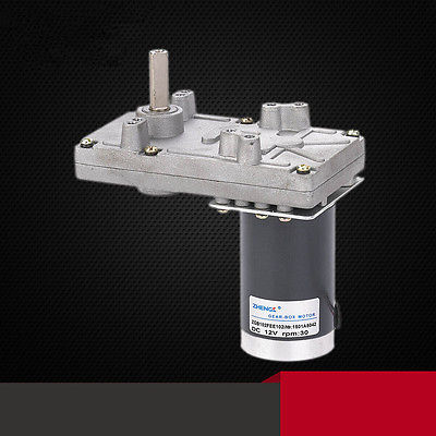 цена на ZGB102FEE 12V 24V DC Geared Motor Output Shaft Misalignment 102mmx60mm 4/10/13/20/30/40/100/120 RPM