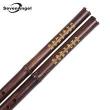 Традиционная ручная работа китайская Вертикальная бамбуковая флейта Xiao 8 отверстий ключ F/G деревянный ветер Flauta музыкальный инструмент рекордер Dizi