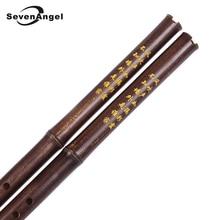 Traditional Handmade Chinese Vertical Bamboo Flute Xiao 8 Holes Key of F/G Woodwind Flauta Musical Instrument Recorder Dizi